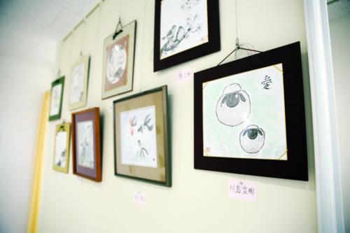 水墨画教室の作品